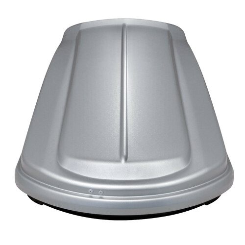 Box 530, ABS roof box, 530 ltrs - Embossed Grey 1