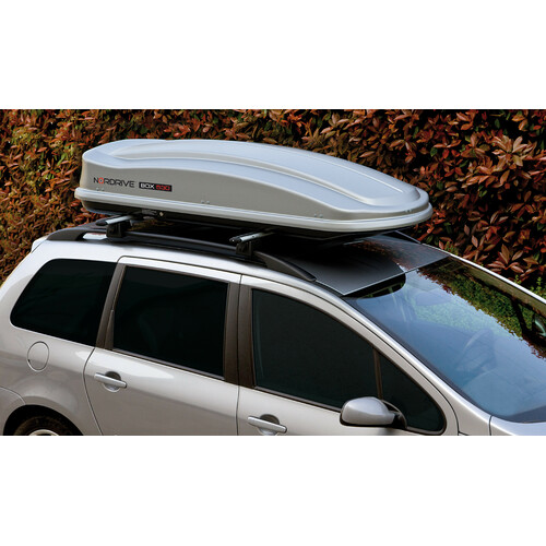 Box 530, ABS roof box, 530 ltrs - Shiny Silver 1