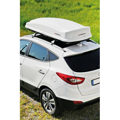Box 530, box tetto in ABS, 530 litri - Bianco lucido 1