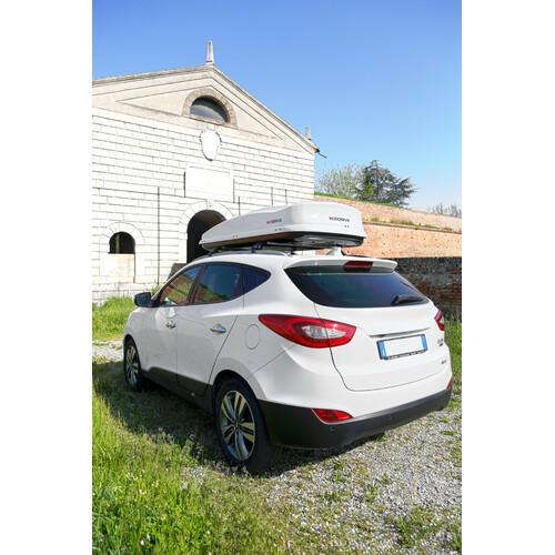 Box 530, box tetto in ABS, 530 litri - Bianco lucido 2