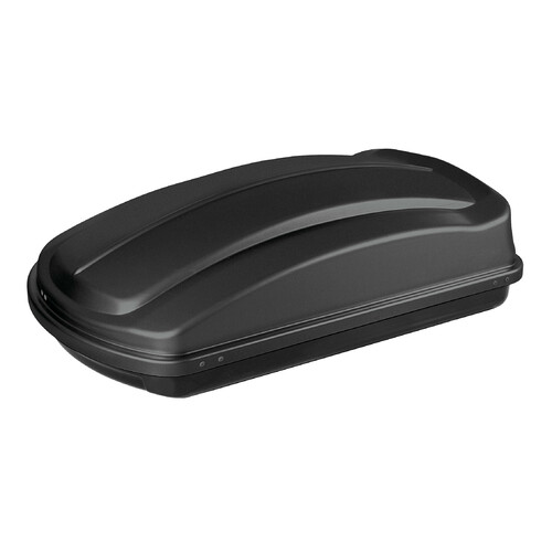 Box 333, ABS roof box, 333 ltrs - Embossed black
