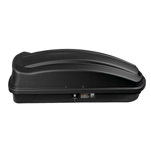 Box 333, ABS roof box, 333 ltrs - Embossed black 2