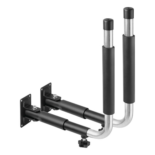 Pair of car roof box wall brackets - Type 1, side stand