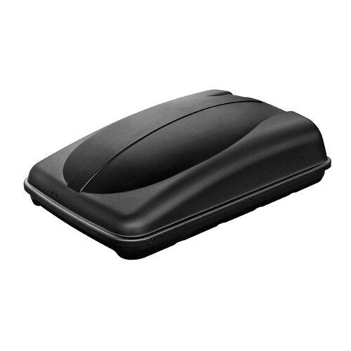 Box 280, ABS roof box, 280 ltrs - Embossed black