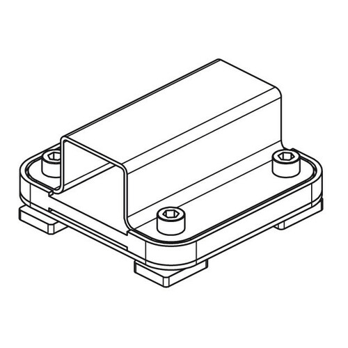 Kargo Rack System - Set 2 adattatori per barra 5