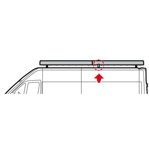 Kargo Rack System - Set of 2 additional adjustable support legs 2
