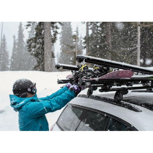 FatCat 6 Evo Black, ski carrier 5