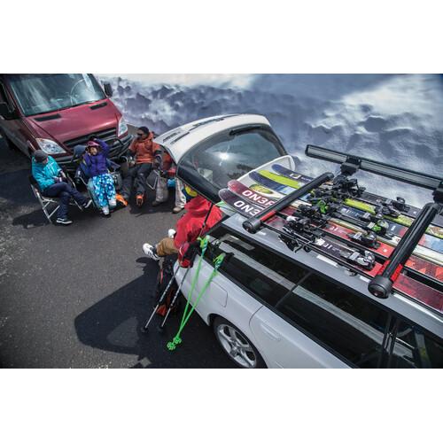 FatCat 6 Evo Black, ski carrier 6