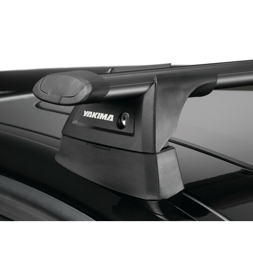 Thru Black, pair of aluminium roof bars - 109 cm 1