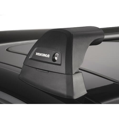 Flush Black Mixed, pair of telescopic aluminium roof bars - 80+85 cm 1