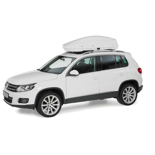 Compact roof box - Shiny White 4