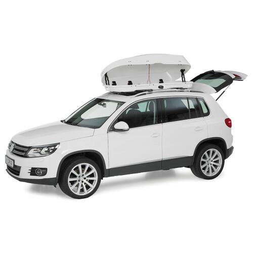 Compact roof box - Shiny White 5