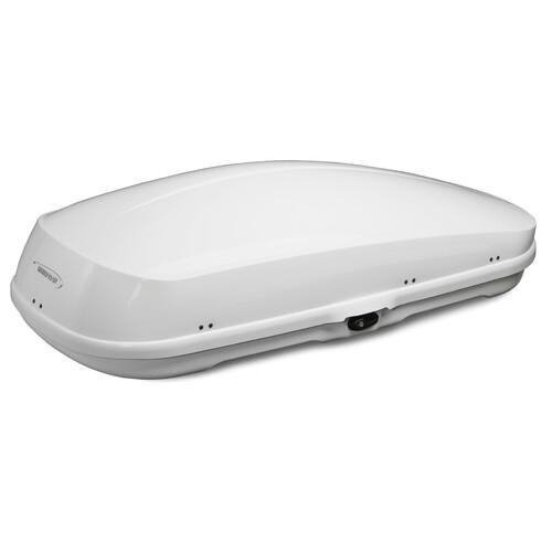 Compact roof box - Shiny White 1