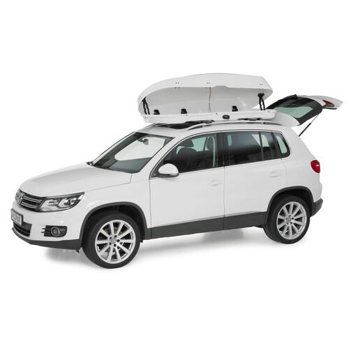 Mid-size roof box - Shiny White 5