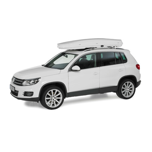 Low line roof box - Shiny White 4