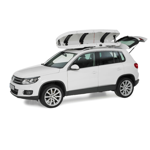 Low line roof box - Shiny White 5