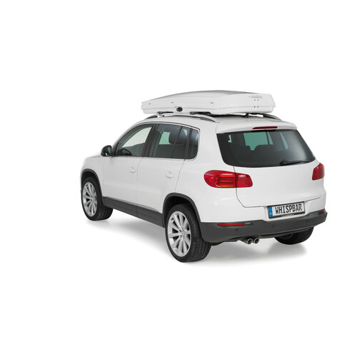 Low line roof box - Shiny White 6