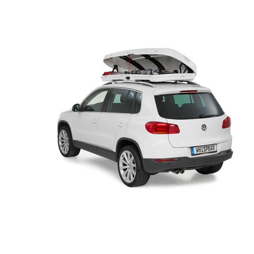 Low line roof box - Shiny White 7