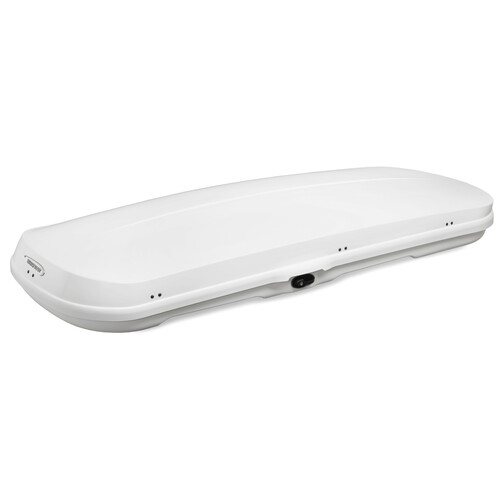 Low line roof box - Shiny White 1
